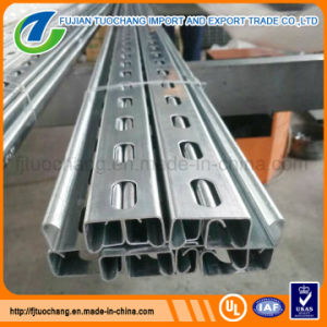 41 X 21 Galvanized Unistrut Steel Slotted Strut Channel pictures & photos