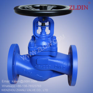 DIN Std. CS Bellows Sealed Globe Valve for Hot Water pictures & photos