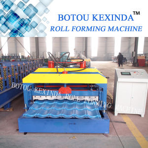 1080 Kexinda Glazed Tile Roll Forming Machine pictures & photos