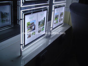 LED Window Display Light Pockets with Magnetic Open pictures & photos
