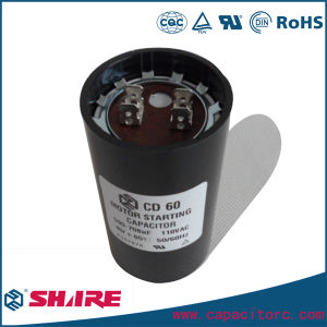 CD60 Capacitor for Starting Fractional Horsepower pictures & photos