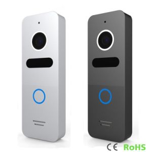 Memory 7 Inch Home Security Video Door Phone Intercom with DVR pictures & photos