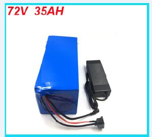 Ebike Battery 72V 35ah 2500W 18650 Battery Electric Bicycle Lithium Battery Pack with Charger and BMS pictures & photos