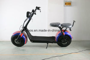 Electric Scooter Citycoco 2 Seats 1500W 60V 20ah Scooter Parts Citycoco Electric pictures & photos