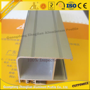 China Supply Anodized Electrophoresis Aluminum Extrusion Profile pictures & photos