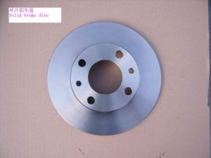 China Factory Supply Car Parts Solid Disc Brake pictures & photos
