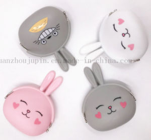 Custom Wholesale Children Kids Silicone Cute Coin Purse pictures & photos