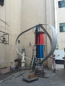10kw Vertical Axis Wind Turbine (VAWT from 200W to 10KW) pictures & photos