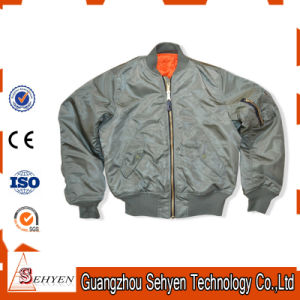 Custom Nomex Ma-1 Flight Men′s Bomber Jacket pictures & photos