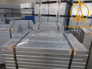 Cold Bened Perforated Metal Scaffolding Hook Plank pictures & photos