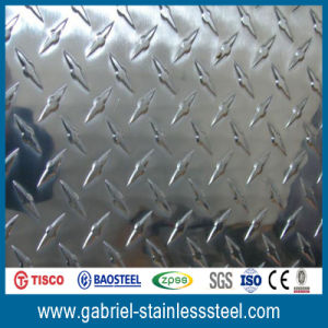 AISI 316L 316 Stainless Steel Checkered Plate pictures & photos