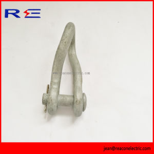 Galvanized Twisted Anchor Shackle for Pole Line Hardware pictures & photos