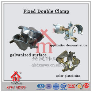 Factory Direct Supply Fixed Double Clamps/Swivel Clamps/Pipe Connecting Couplers pictures & photos
