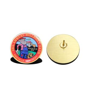Customized Full Color Printing Lapel Pin for Gift pictures & photos