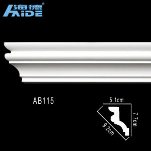 Crown Moulding /Polyurethane Cornice /PU Decorative Mouldings for Interior pictures & photos
