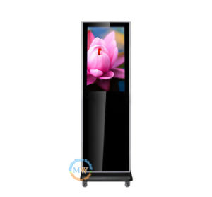 32 Inch Floor Stand Android WiFi Double Sided Digital Signage (MW-321ATN) pictures & photos