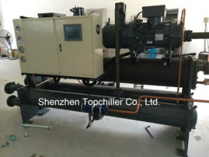 288000BTU/H Mould Cooling Water Cooled Screw Chiller in Extruder Lines pictures & photos