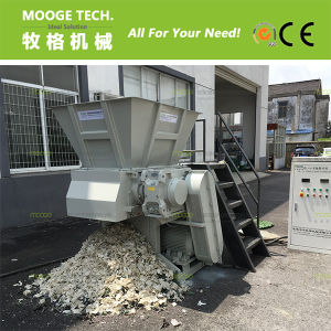 Plastic die material, big block material shredder pictures & photos