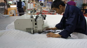 Czf2 Zipper Mattress Stitch Machine Station for Mattress Zipper Machine pictures & photos