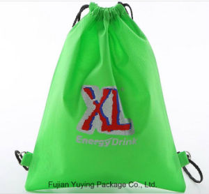 Drawstring Non Woven Shopping Bag with Customerized Printing pictures & photos