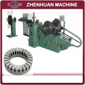 Automatic Disc Motor Iron Core Making Machine with Punching and Winding Function pictures & photos