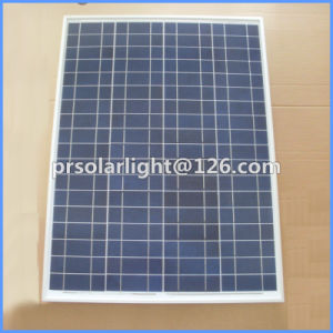 High Efficiency Poly Renewable Energy Saving Solar Panel 40W 50W pictures & photos