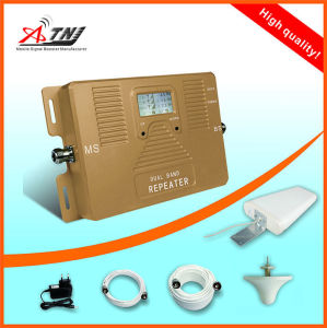 Dual Band 1800/2100MHz 2g, 3G, 4G Call Phone Signal Booster Repeater Amplifier pictures & photos