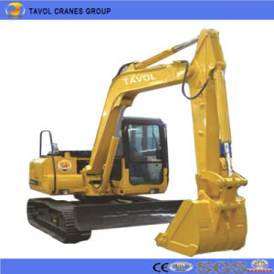 Sugarcane Wheel Hydraulic Excavator pictures & photos