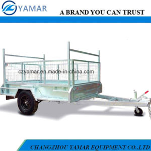 ATM 1400kg Box Trailer with Cage/Dump Trailer/Tipper Trailer pictures & photos