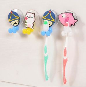 2017 Cute Cartoon Mixed Style Animal Toothpaste Tooth Brush Holder pictures & photos