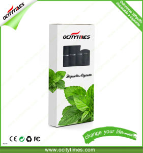 Ocitytimes 300puffs/500puffs/600puffs Disposable Electronic Cigarette with Ce/FCC/RoHS Certificate pictures & photos