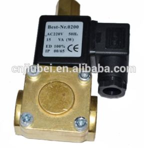 Screw Air Compressor Parts Best-Nr. 0200 AC220V ED100% Solenoid valve pictures & photos