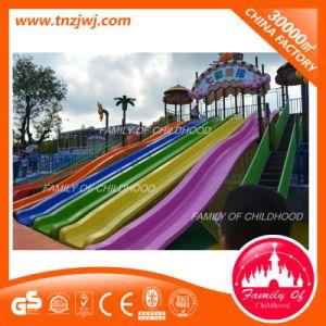 Guangzhou Children′s Park Kids Outdoor Playground Rainbow Slide Sets pictures & photos