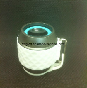 Bluetooth LED Light Cup Shape Portable Wireless Mini Mobile Speaker with Cover pictures & photos