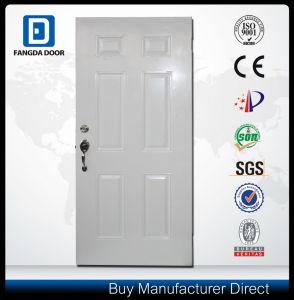6 Panel American Steel Metal Door pictures & photos