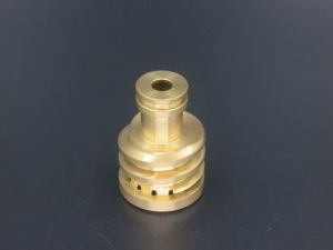 CNC Precise Turning Copper Components pictures & photos
