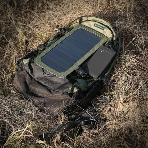 6.5W Outdoor Solar Cell Phone Tablet Charging Large Capacity Travel Backpack Hiking Package Solar Panel Charging Bag (SB-168) pictures & photos