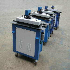 Multi-Function Aluminum Plate Pittsburgh Lock Forming Machine pictures & photos