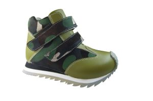 Kid′s Orthopedic Sport Shoes Orthotic Footwear pictures & photos