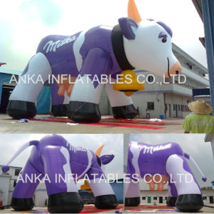 Giant Advertising Inflatable Cartoon Milk Cow Model pictures & photos