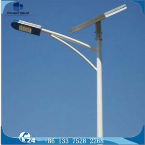 10m Octagonal Hot DIP Galvanizing Pole 24VDC Solar Camping Light pictures & photos