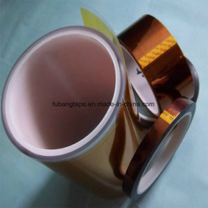 Silicone Adhesive Heat Resistant Polyamide Film Tape with ISO900114001 Certificates pictures & photos