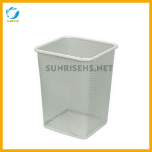 Square Shape Metal Mesh Waste Paper Bin pictures & photos