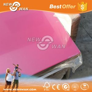 Top Grade High Glossy Pink 17mm UV MDF pictures & photos