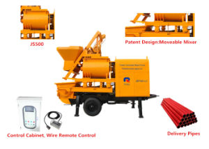 High Efficiency Electric Trailer Concrete Mixer Pump (JBT40-L) pictures & photos