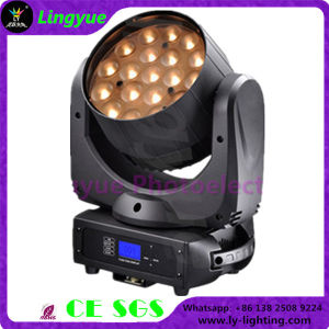 19X15W RGBW LED Zoom Moving Head DMX Lighting pictures & photos