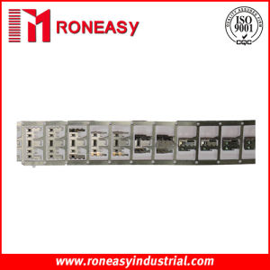 Precision Metal Progressive Die Stamping Strip (Model: RY-SS001)