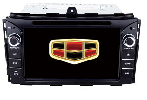 Quad Core 2 DIN Capacitive Touch Screen Car Navigation with Bt iPod 3G Vmcd FM Am for Emgrand Ec7 2014