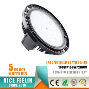 115lm/W 200W UFO LED High Bay for Warehouse Industrial Lighting pictures & photos