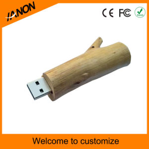 High Quality Wooden USB Flash Memory with Your Logo pictures & photos